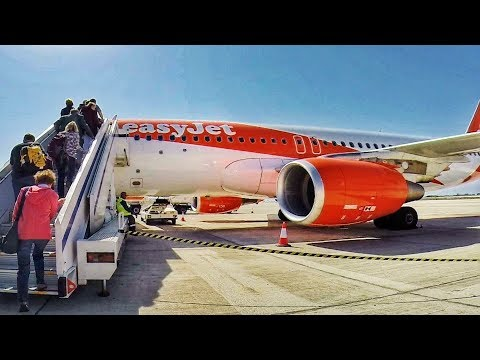 EasyJet Flight EZY8934 Paphos - London Gatwick | TRIP REPORT | GoPro Wing View | Boarding to Landing