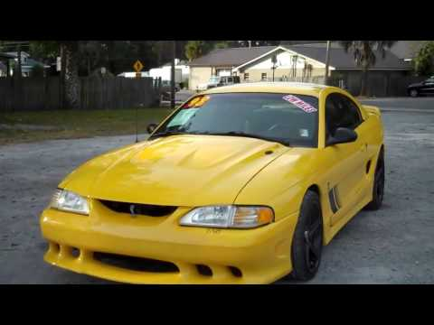 98-0075 S281 Cobra, Saleen Mustang