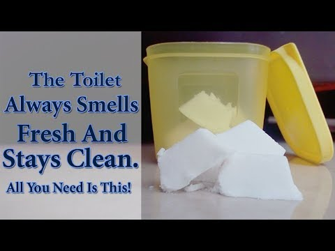 The Toilet Always Smells Fresh and Stays Clean. All You Need is This | DIY Toilet Fizzies