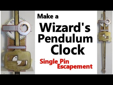 Make a Wizards Pendulum Clock