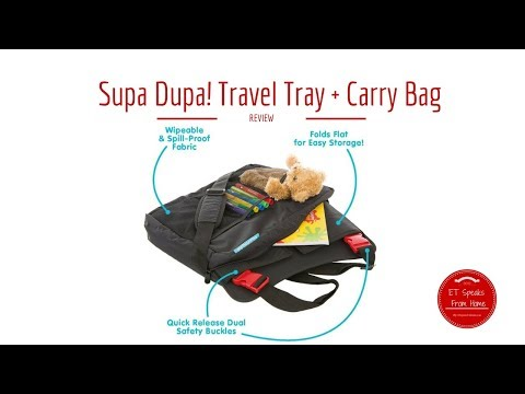 Supa Dupa! Travel Tray + Carry Bag Review