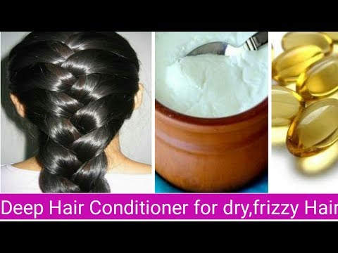 Miracle Homemade deep Hair conditioner - for Dry | Damaged| rough & Frizzy Hair