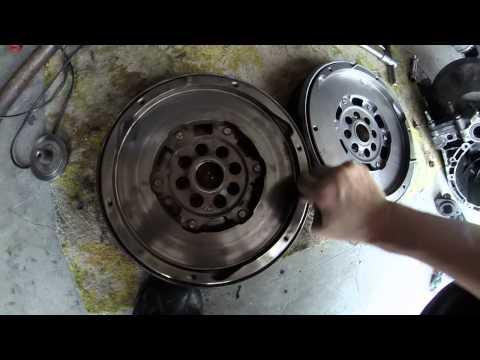 Dual Mass Flywheel DMF Broken vs. New 2.0 HDI RHR Citroen Peugeot