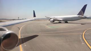 REJECTED TAKEOFF! United 757-200 RWY 28L at SFO