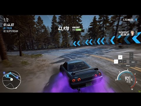 Need For Speed Payback - How does it play with Keyboard? Drift & Grip (w/ Keyboard Overlay)