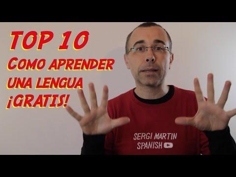 TOP 10 recomendaciones para aprender español. ¡GRATIS!
