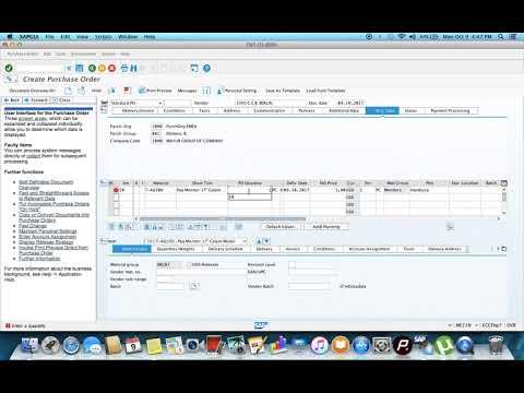 SAP Tutorial for beginners -  SAP QM in Procurement