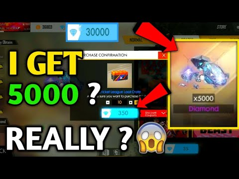 I Get 5000 Diamonds?? Free Fire | Cricket League Box In Free Fire