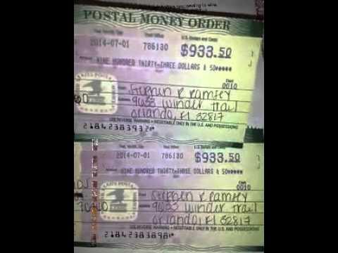 Money Order Scam!