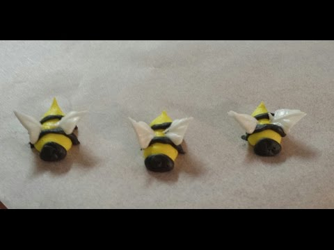 Royal Icing Decoration - Edible Bees