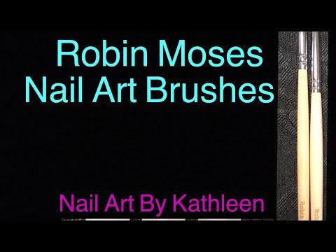 Robin Moses Nail Art Brushes Demo And Review