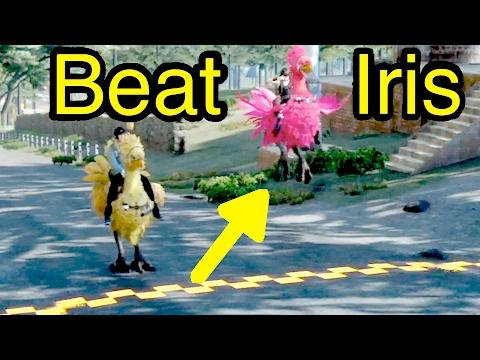 Final Fantasy XV: Beat Iris in Chocobo Races (vs Iris)