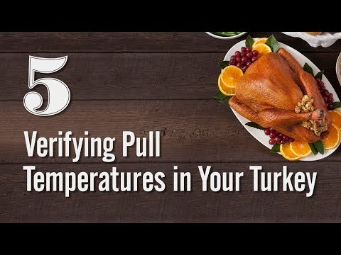 Turkey Tips - Verifying Pull Temperatures in Your Turkey