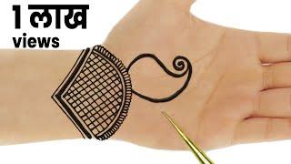 Beautiful Arabic Mehndi Designs For Hands | Simple Peacock Mehndi Design for Hands for Navratri #74