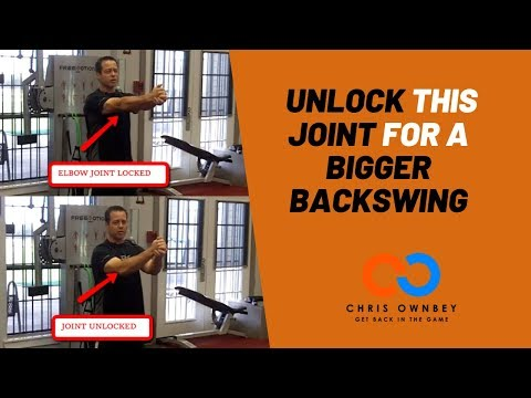 Unlock to Load For a Bigger Backswing
