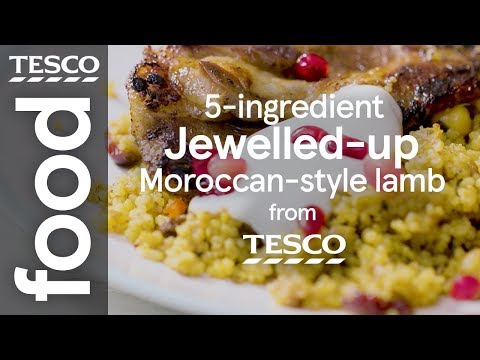 5-ingredient Moroccan-style lamb | Tesco Food