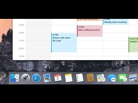 Como cambiar el color de el Dock en MAC