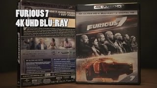 Furious 7 4K UHD Blu-Ray Unboxing DTS-X Audio/ Video Review