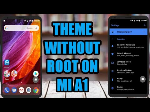 mi a1 theme store themes in apks   change theme without root or andromeda on mi a1 on oreo
