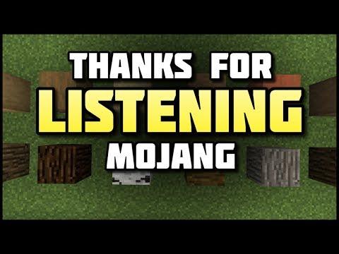 Thanks for Listening, Mojang