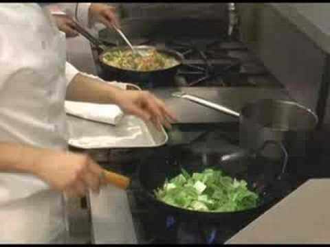 Chinese culinary chicago - stir fry food technique