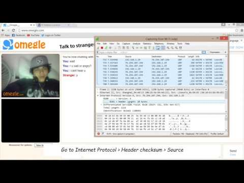 Find Out Someone's Location On Omegle [Trace IP Address][Tutorial]