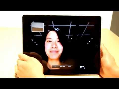 iPad 2 Facetime Feature