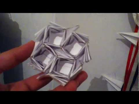 Origami Easy Oscillating Flasher Tessellation - Not A Tutorial