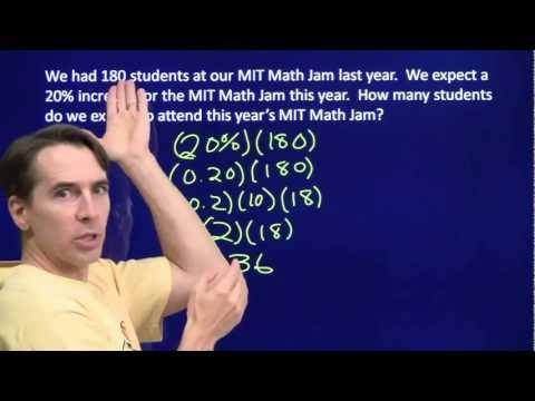 Art of Problem Solving: Percent Increase and Decrease Part 1