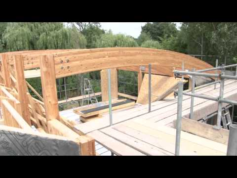 Contemporary Design Custom Timber Frame House