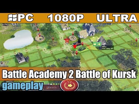 Battle Academy 2 Battle of Kursk gameplay HD [PC - 1080p] - WWII Turn-Based Strategy Game