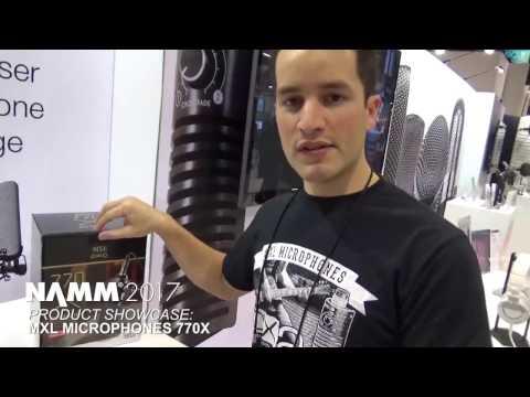 NAMM 2017 - MXL 770X Condenser Microphone