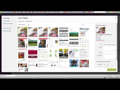 Using the Visual Editor in WordPress 3.9