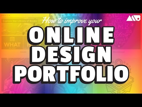 How to Improve Your Online Design Portfolio