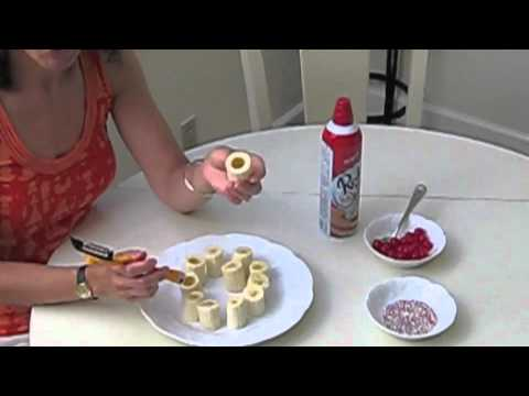 How to Make Mini Banana Splits