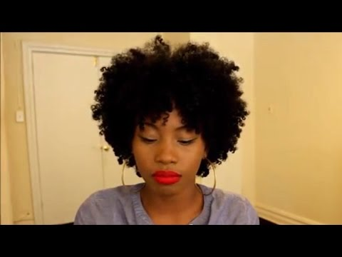 BRAIDOUT TUTORIAL ON NATURAL HAIR | SHEA MOISTURE CONDITIONER AND ECOSTYLER GEL
