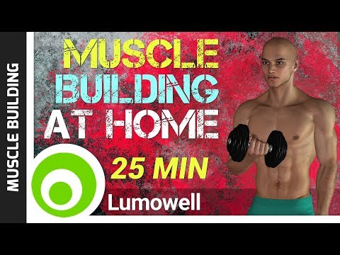 Easy Workout to Gain Muscle at Home - Muscle Building Exercises for Beginners