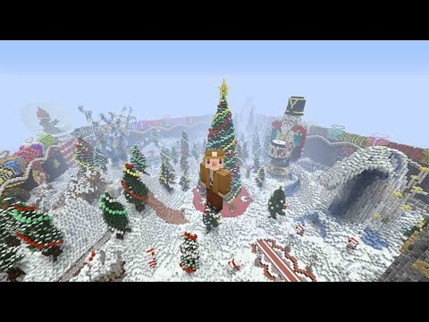 Minecraft PS4 - The Day Before Christmas - Hunger Games