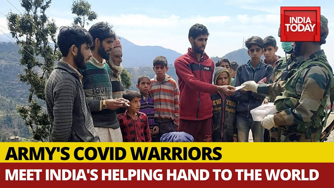 Meet Army's COVID-19 Warriros: India's Helping Hand To The World
