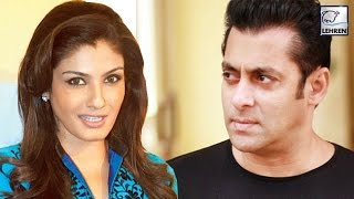 Raveena Tandon FOUGHT With Salman Khan Over A Bubble Gum
