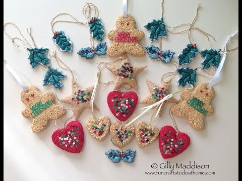 Easy To Make Christmas Decorations - Great For Children!