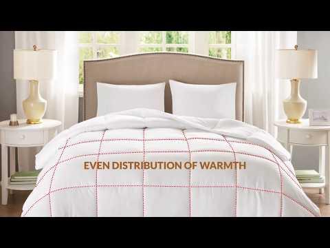 Copper Infused Micro Fiber Down Alternative Comforter