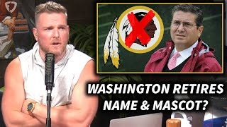 Pat McAfee Reacts To The Washington NFL Team Retiring Their Name And Mascot
