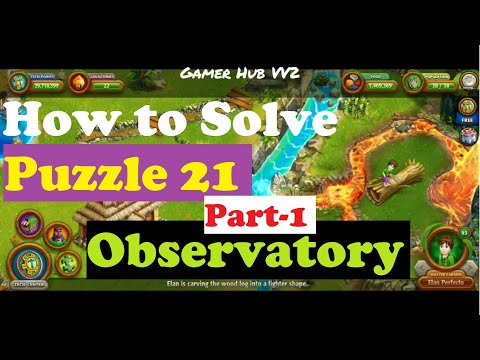 How to Solve Puzzle 21 Chapter 2 Telescope/Observatory Part-1