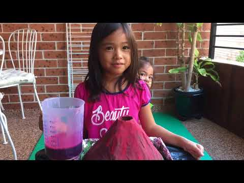 How to make Volcano Eruption at home with Mickey and Gabby