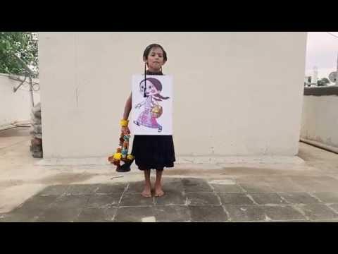 Diksha Gangwal @ Fancy Dress Competition  - cartoon character CHUTKI