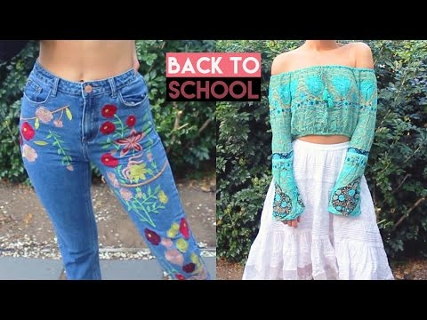 HUGE BACK TO SCHOOL TRY ON CLOTHING HAUL 2016! | Bohemian Island