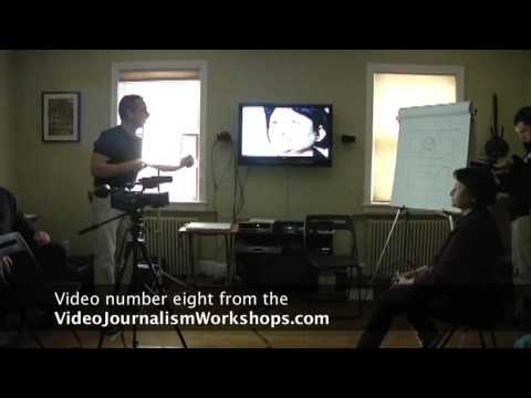 How to Conduct a Formal Video Interview, Video 8 from the Online Video Journalism Workshop
