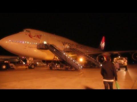 Virgin Atlantic B747 Takeoff Barbados