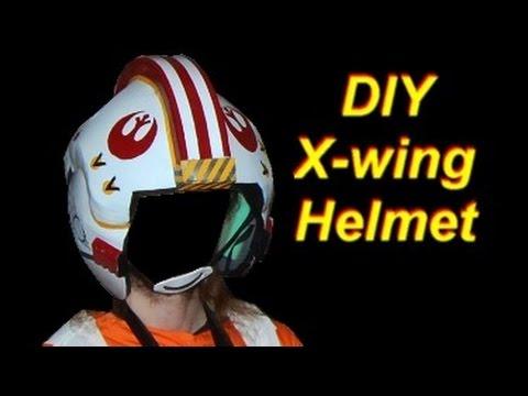 DIY Luke Skywalker Costume (x-wing pilot): Helmet
